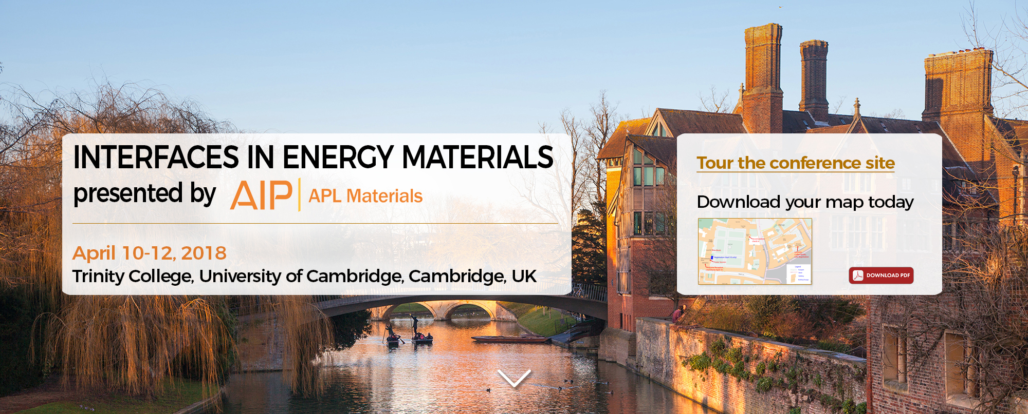 Interfaces are critical to achieving next generation energy systems with high performance and stability. However, little is known about the potential challenges associated with interface pheonomena in these systems. This conference will bring together leaders in the fields of thermoelectrics, solid-state batteries, solid-oxide fuel cells, and interface electronics to discuss the latest discoveries that have been made in their respective communities regarding the interface. The aim is that collaborative discussions among these groups will direct the future of interfaces in energy materials.